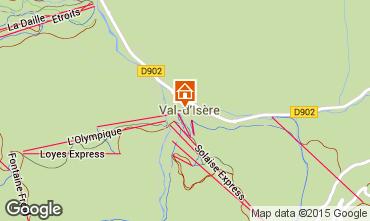 Mappa Val d'Isère Appartamento 3359