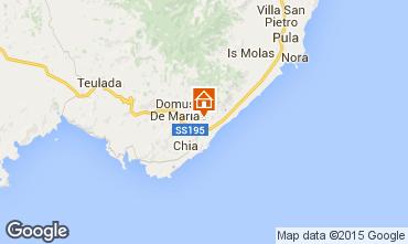Mappa Chia Appartamento 75425
