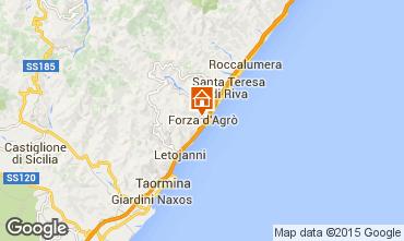 Mappa Taormina Appartamento 98800