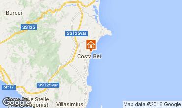 Mappa Costa Rei Bungalow 84192
