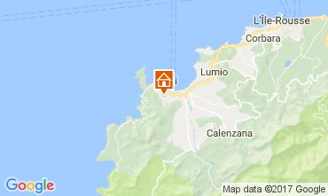 Mappa Calvi Villa  111491