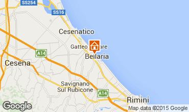 Mappa Bellaria Igea Marina Appartamento 95248
