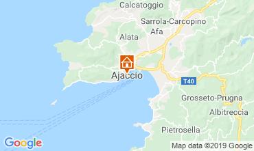 Mappa Ajaccio Monolocale 118240