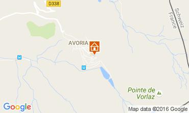 Mappa Avoriaz Monolocale 107145