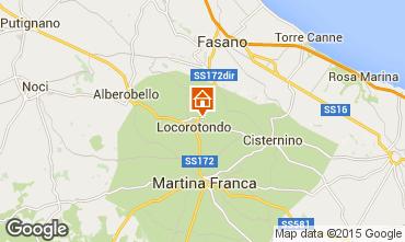 Mappa Alberobello Chalet 16444