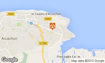 Mappa Arcachon Appartamento 60781
