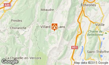 Mappa Villard de Lans - Corrençon en Vercors Chalet 48608