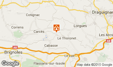 Mappa Le Thoronet Casa 98597