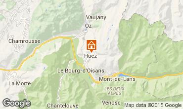 Mappa Alpe d'Huez Chalet 100569