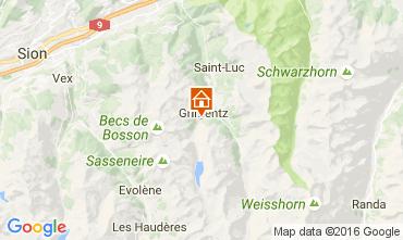 Mappa Grimentz Appartamento 107024