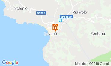 Mappa Levanto Appartamento 117323