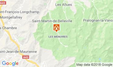 Mappa Les Menuires Chalet 100576