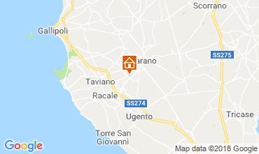 Mappa Casarano Villa  116433