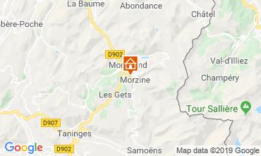 Mappa Morzine Chalet 117973