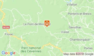 Mappa Mont Lozère Casa 117356