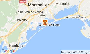 Mappa Palavas-les-Flots Monolocale 106940