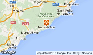 Mappa Tossa de Mar Appartamento 85512
