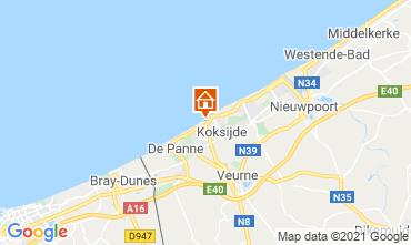 Mappa Koksijde Appartamento 9565