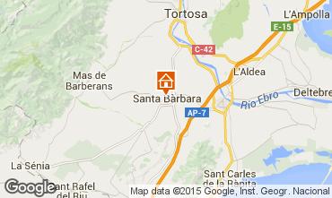 Mappa San Carlos de la Rápita Casa 69099