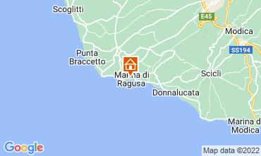 Mappa Marina di Ragusa Appartamento 92332