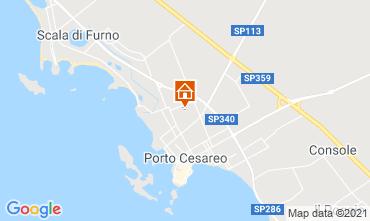Mappa Porto Cesareo Monolocale 97449