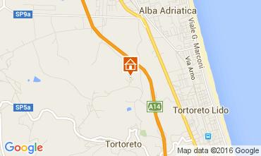 Mappa Tortoreto Appartamento 82583