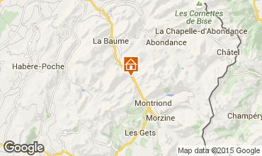 Mappa Saint Jean d'Aulps- La Grande Terche Monolocale 2513