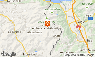 Mappa La Chapelle d'Abondance Appartamento 66705