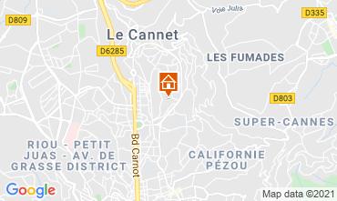 Mappa Cannes Appartamento 76852
