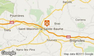 Mappa Saint Maximin la Sainte Baume Villa  79351
