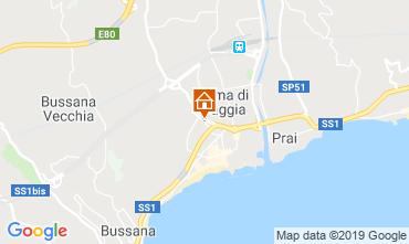 Mappa Taggia Appartamento 115381
