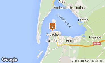 Mappa Arcachon Appartamento 75728