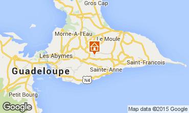Mappa Sainte Anne (Guadalupa) Agriturismo 8024