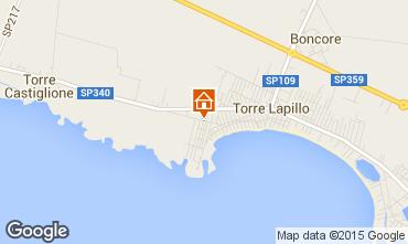 Mappa Porto Cesareo Appartamento 100275