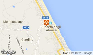 Mappa Roseto degli Abruzzi Appartamento 42671