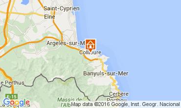 Mappa Collioure Appartamento 102973