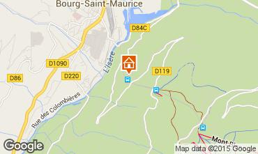 Mappa Les Arcs Appartamento 197