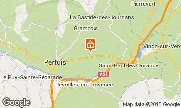 Mappa La Tour d'Aigues Appartamento 71471