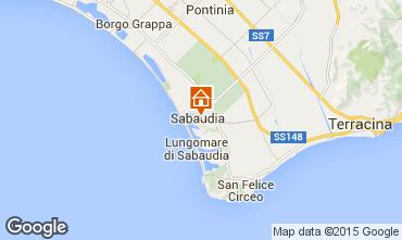 Mappa Sabaudia Appartamento 43814
