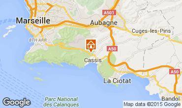 Mappa Cassis Villa  89945