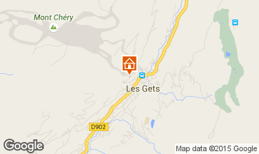 Mappa Les Gets Chalet 1350
