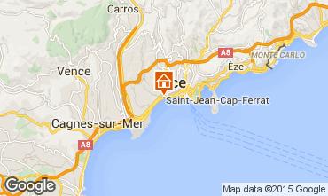 Mappa Nizza Appartamento 40390