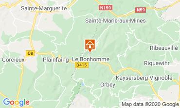Mappa Station du Lac Blanc (Lago Bianco) Chalet 4523