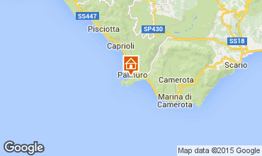 Mappa Palinuro Appartamento 76514