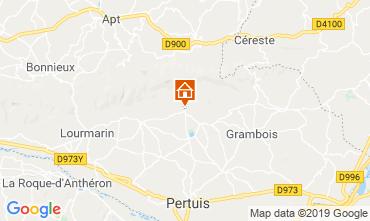 Mappa Lourmarin Agriturismo 119717