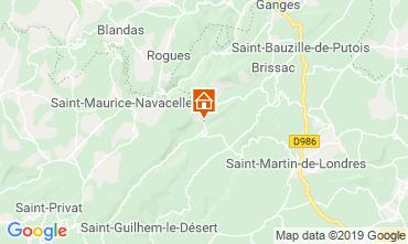 Mappa Saint Guilhem le Désert Agriturismo 118530