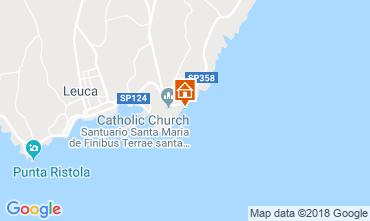 Mappa Santa Maria di Leuca Alloggio insolito 55854