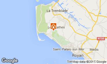 Mappa Les Mathes Casa mobile 77563
