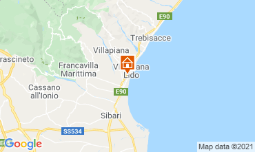 Mappa Villapiana Appartamento 47027