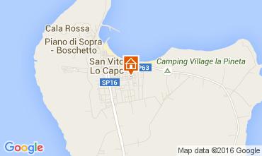 Mappa San Vito lo Capo Villa  103250